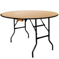 3ft dia Wooden Banqueting Table