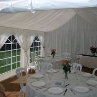 4m x 12m Marquee Roof Lining to fit party tents/marquees