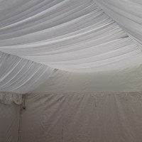 6m x 8m Marquee Roof Lining Hire to fit Gala Marquee