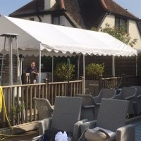 Marquee Canopy Roof hire 4m x 6m