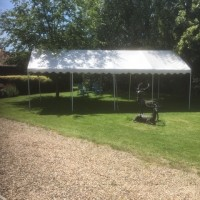 Marquee Canopy Roof hire 4m x 8m