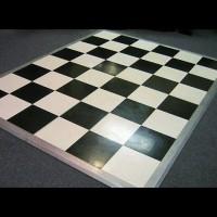 Sparkle and Fleck Black & White Dance Floor