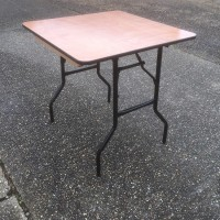 Wooden Square Trestle Table 2ft x 2ft