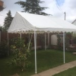 Marquee Canopy Roof hire 4m x 4m