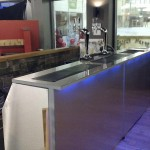 Portable Long Bar With LED Remote Control Coloured Lighting Effect