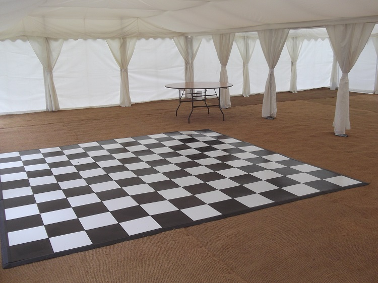 Black Amp White Dance Floor 4m X 4m Leisure Time Hire
