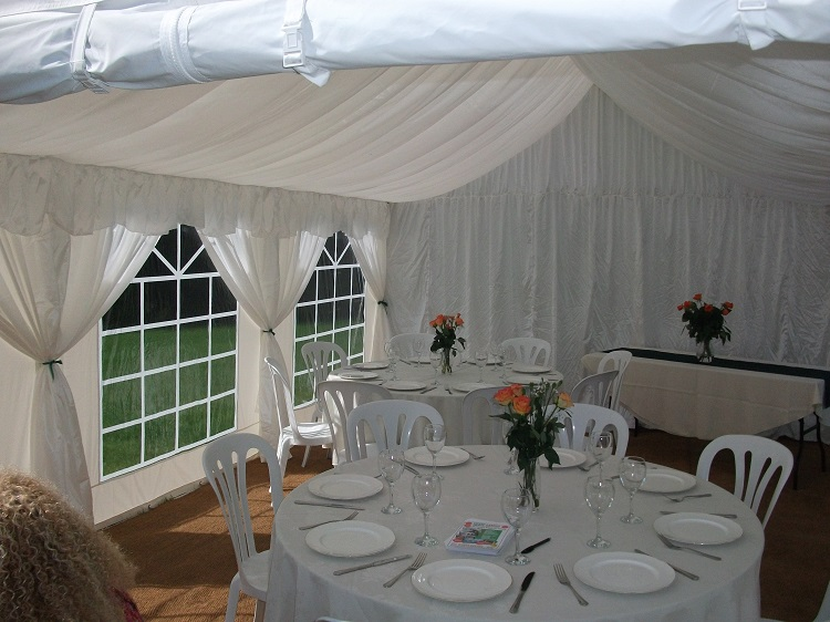 4m x 10m Marquee Roof Lining to fit party tentsmarquees